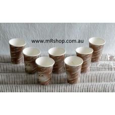 Enviro-Pak 2000 x 8oz Paper Vending Machine Coffee Cups (Thick Lip)