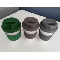3 x Eco Friendly Reusable Travel Coffee Cup - BPA Free!  Shipping Included